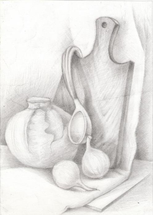 Кухонный натюрморт (496x700, 36Kb)