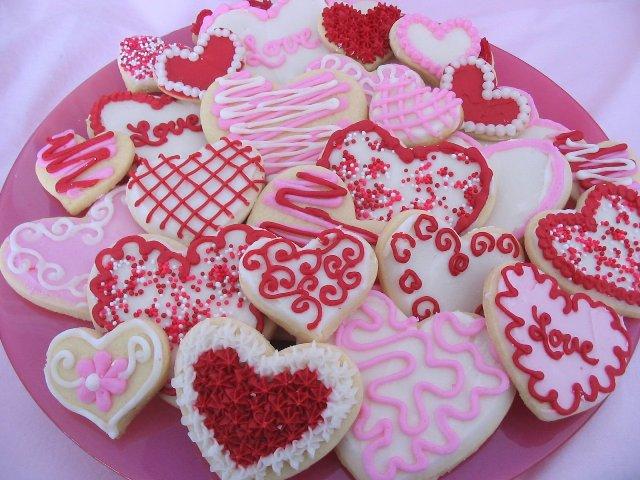 Печенье сердечки в форме рецепт с фото