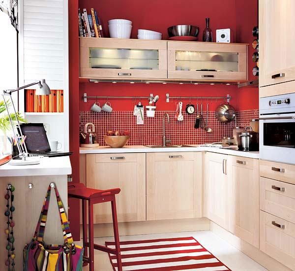 Маленькая кухня - не наказание!:) 96656256_yarkayastenanamalenkoikuhne