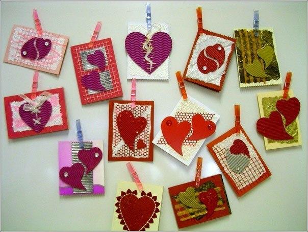 День валентина своими руками подарки