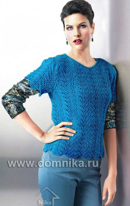pulover-sinii (443x700, 41Kb)