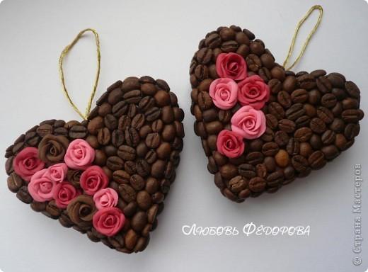 Поделки из кофейных зёрен своими руками пошаговое 6