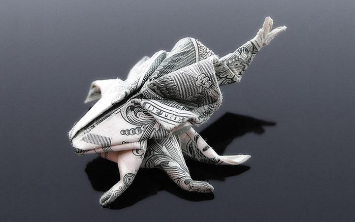 оригами из денег фото 6 (700x437, 88Kb)