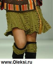 Вязанная юбка самое интересное в блогах
