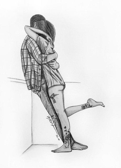 картинки руки влюбленных нарисованные