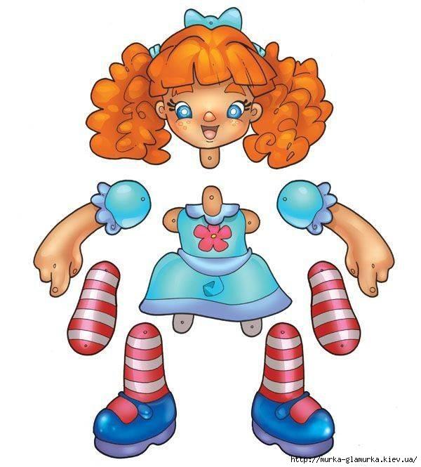 Двигающая кукла своими руками