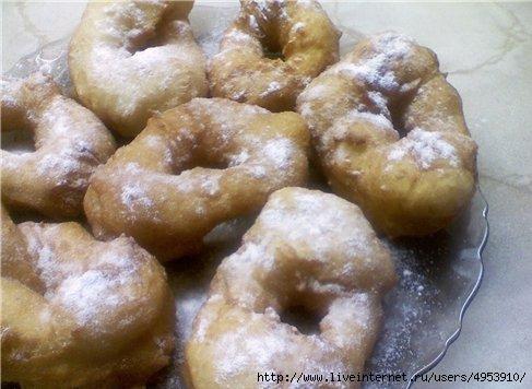Пончики дрожжевые (487x356, 100Kb)