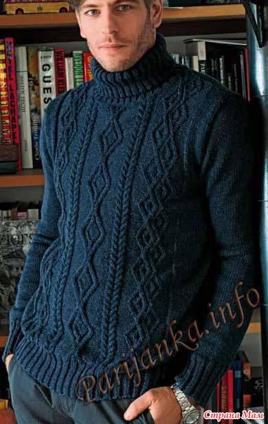 пуловер м  (390x617, 55Kb)