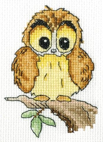 Woodland Folk Ollie Owl (2) (350x485, 178Kb)