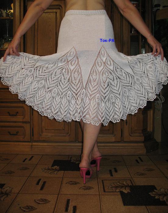 """钩针:""""一条漂亮的裙子"""" - maomao - 我随心动"""