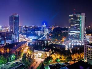 «Огни» ночного Киева:  световые короба и другая наружная световая реклама!