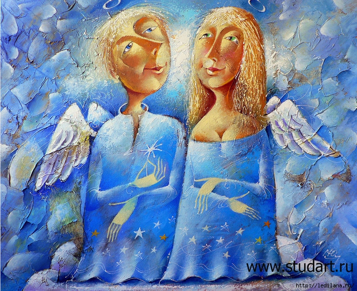 Два ангела (700x570, 494Kb)