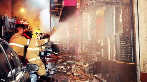 В ночном клубе Бразилии на пожаре погибли люди