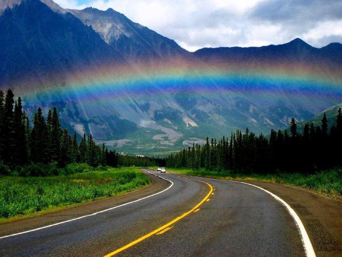 дорога радуга