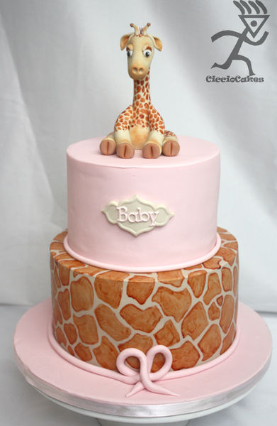 жираф из мастики (391x600, 36Kb)