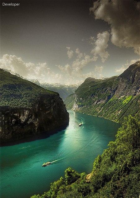 Норвегия - Гейрангер фьорд (451x640, 90Kb)
