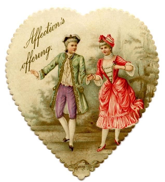 valentine garland vintage image GraphicsFairy1 (636x700, 279Kb)