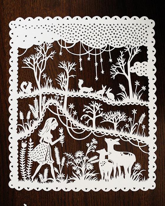волшебные иллюстрации художницы Sarah Trumbauer/1359415417_1_2 (560x700, 408Kb)