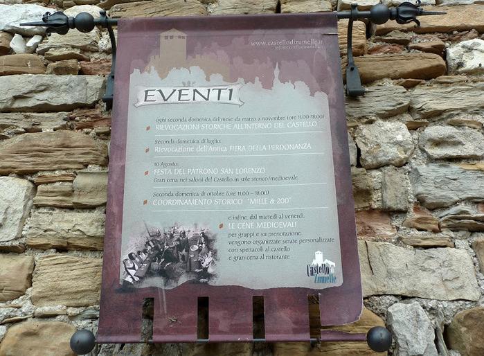 Замок Зумелле - Castello di Zumelle 99773