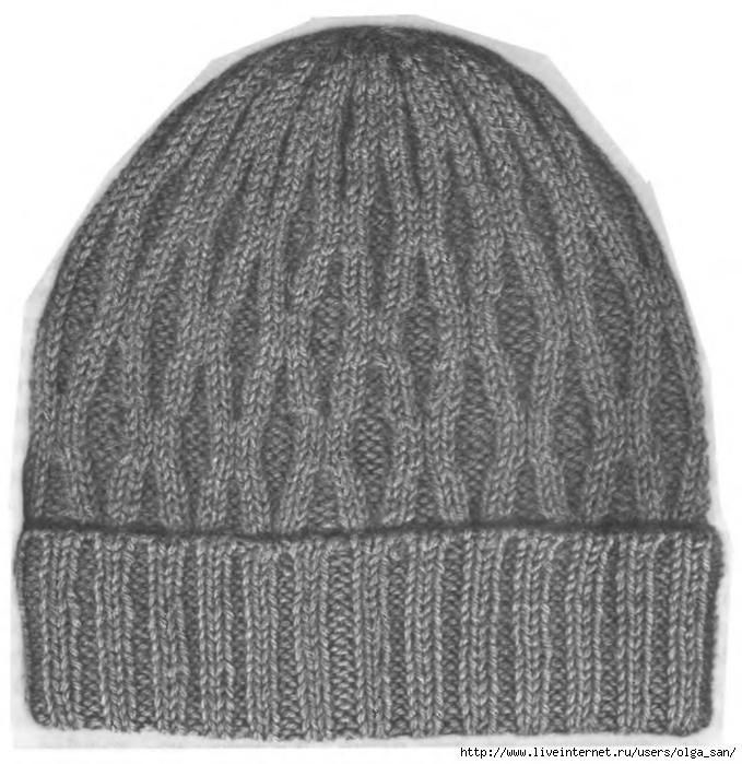 мужская шапка - Самое