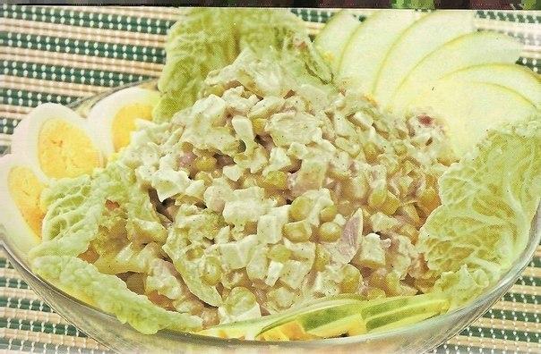 Салат из пекинской капусты (604x396, 76Kb)