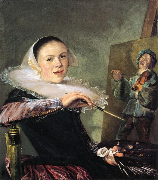 Judith Leyster (1609–1660), Self-portrait, circa 1630 (525x600, 135Kb)