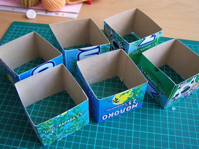 Что можно сделать из коробочек своими руками 26