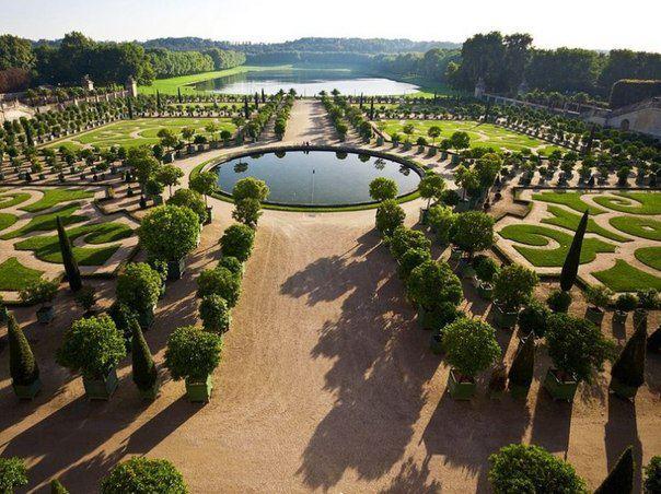 Сады Версаля, Франция (604x452, 73Kb)
