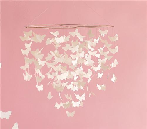 Как сделать своими руками люстру с бабочками своими руками