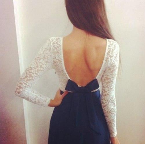 Думаю, платья с открытой спиной - не проходящий тренд, классика всех времен