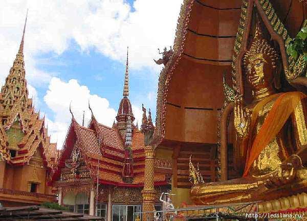 Тайланд22 храм Будды (600x432, 159Kb)