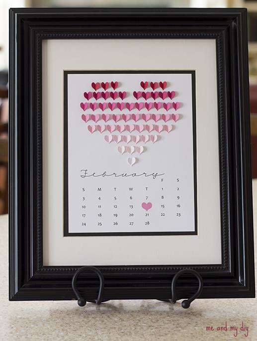 Календарь своими руками для любимого