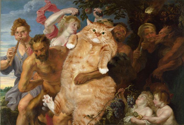 Рубенс, Пьяный Силен, поддерживаемый сатирами (700x476, 81Kb)