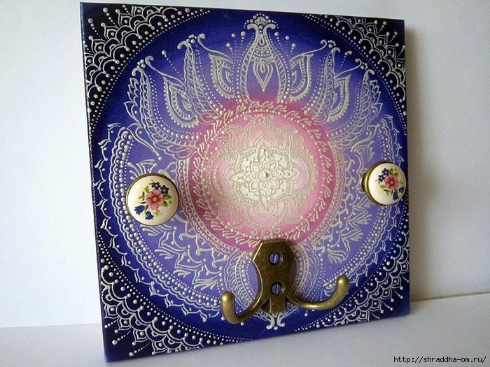 Вешалка Сиреневое кружево, автор Shraddha, 1 (700x525, 339Kb)