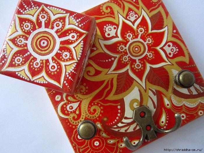 Вешалка Красная карамель, автор Shraddha, 1 (700x525, 341Kb)