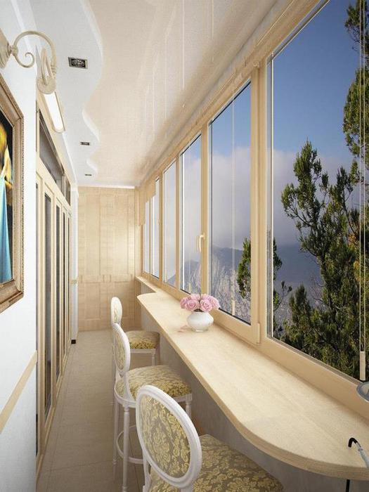 Балконы отделка интересные идеи своими руками