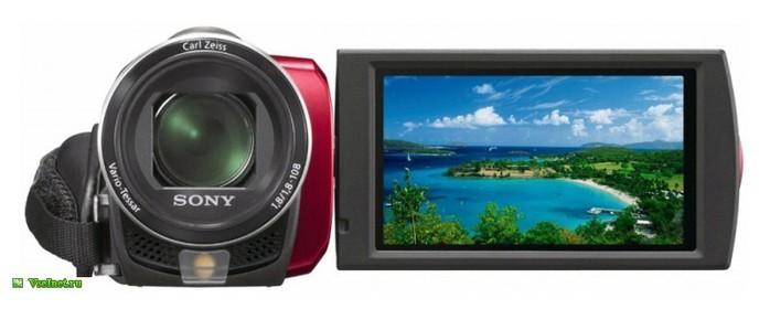 Видеокамера Sony DCR-SX45ER (700x280, 40Kb)