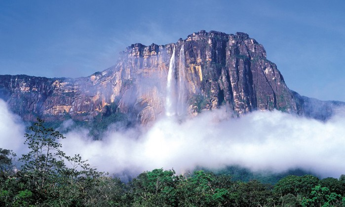 Чудеса света водопаданхель