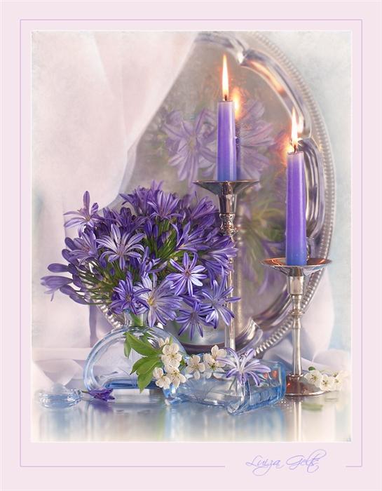 Схема для вышивки крестиком в графике Название:Цветы со свечами Автор: коллектив Издательство: Леврон ISBN: - Жанр...