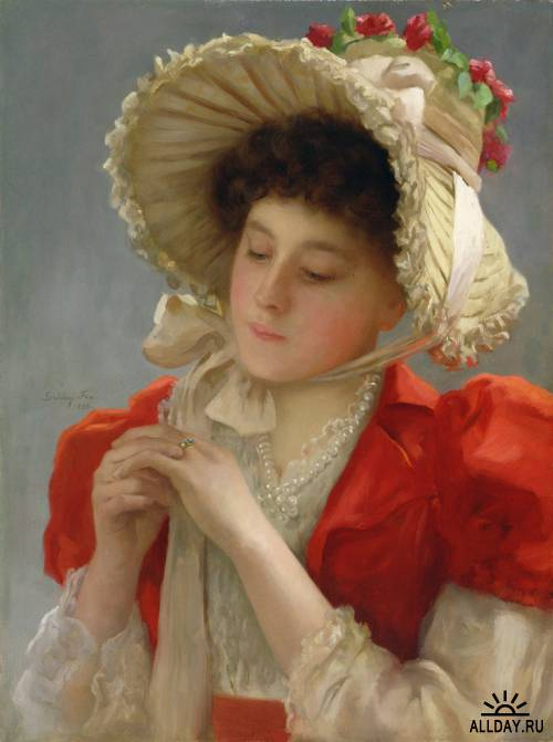 john-shirley-fox-british-1860-1939the-engagement-ring-1898 (500x671, 40Kb)