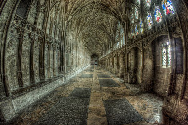 Глостерский собор, Глостер, Великобритания (604x403, 69Kb)