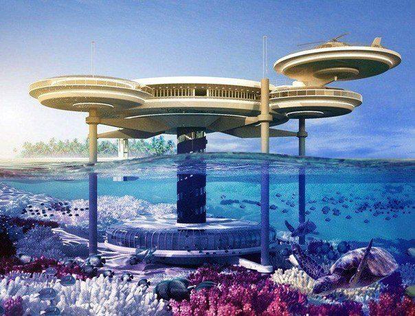Подводный отель в Дубае (604x460, 79Kb)