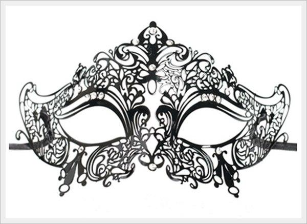 Маскарадная маска своими руками на новый год