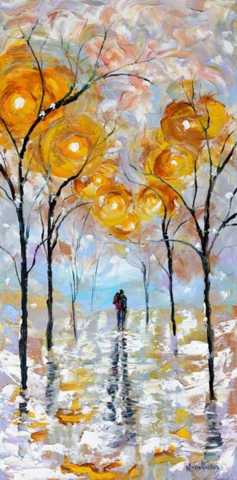 современная живопись Карен Тарлтон 9 (345x700, 339Kb)