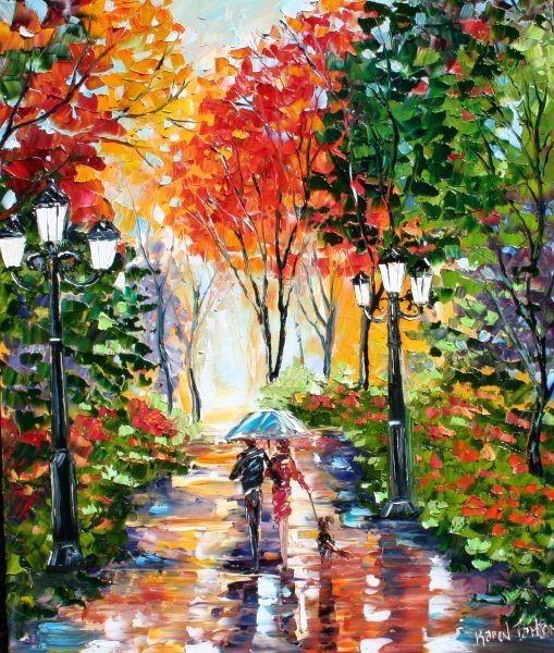 современная живопись Карен Тарлтон 11 (509x600, 128Kb)
