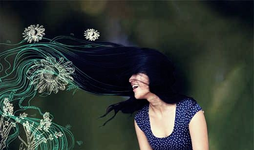 Уход за волосами без химии. Фотографии