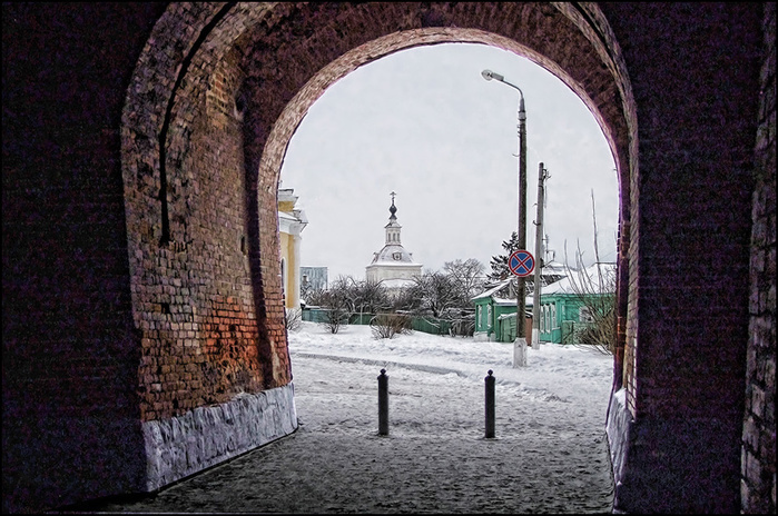 Пятницкие ворота Коломенского Кремля/3673959_2 (700x464, 193Kb)