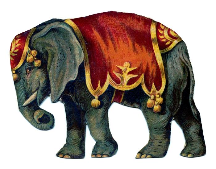 elephant vintage GraphicsFairy006b (700x548, 246Kb)