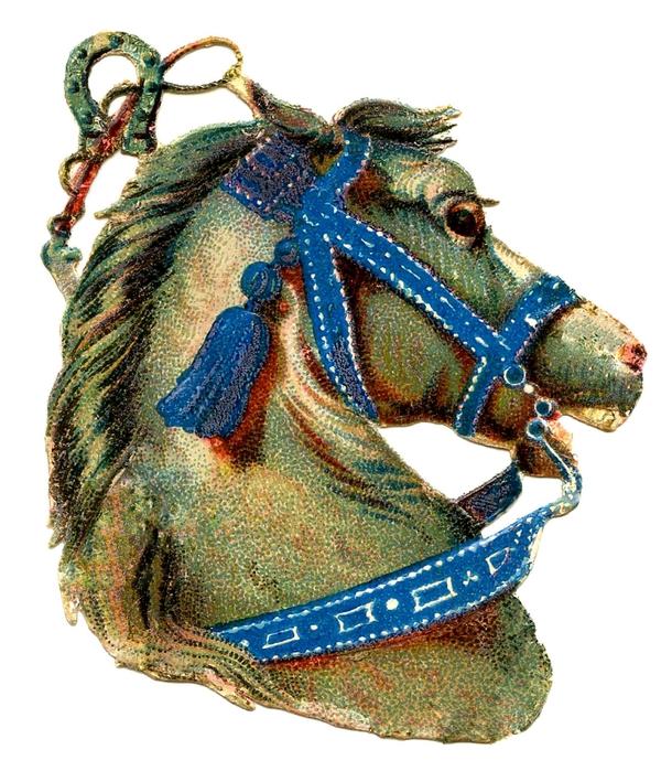 HorseHead-Vintage-GraphicsFairy2 (610x700, 309Kb)
