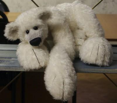 белый медведь от татьяны